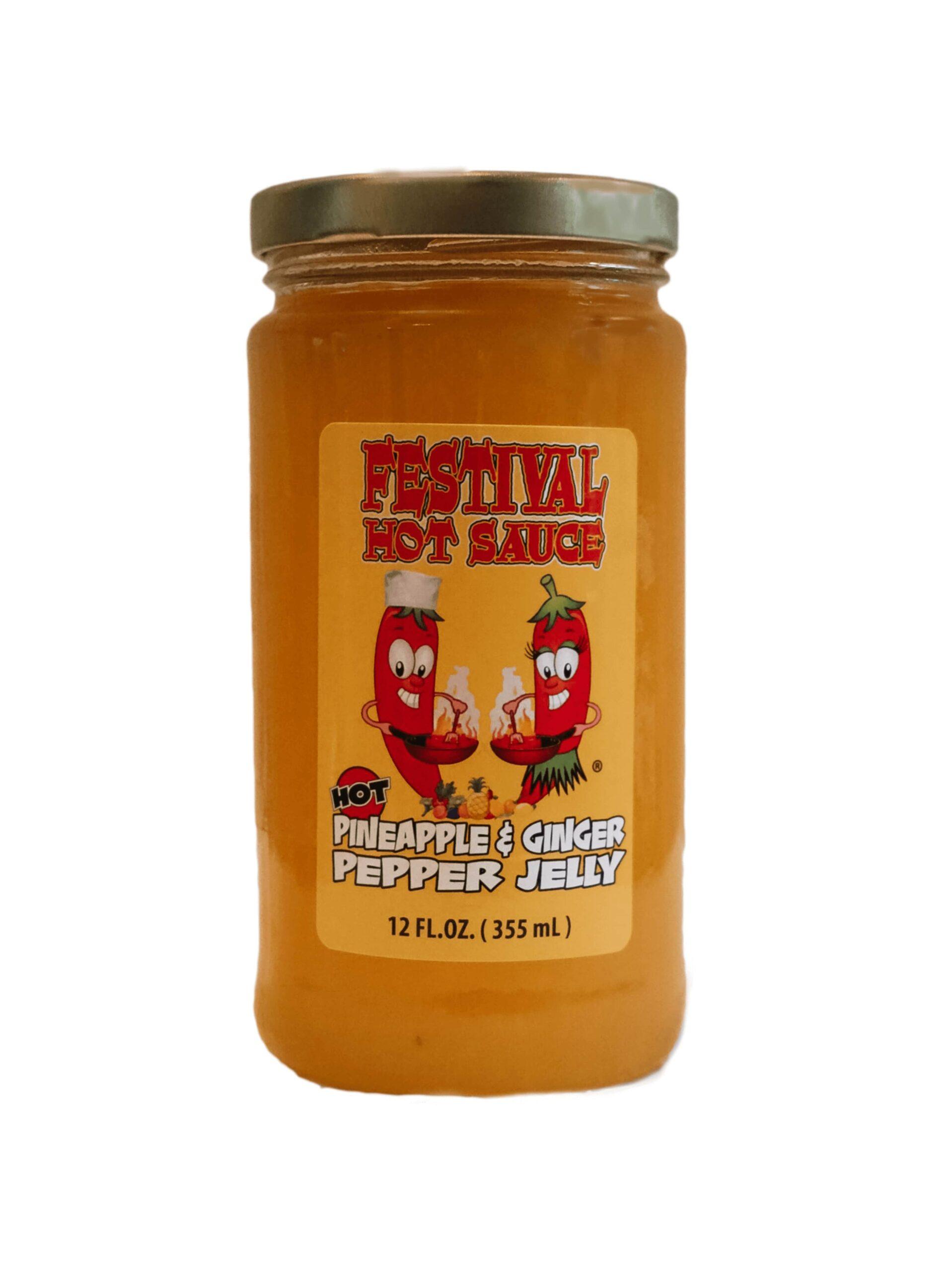 Pineapple Ginger Pepper Jelly
