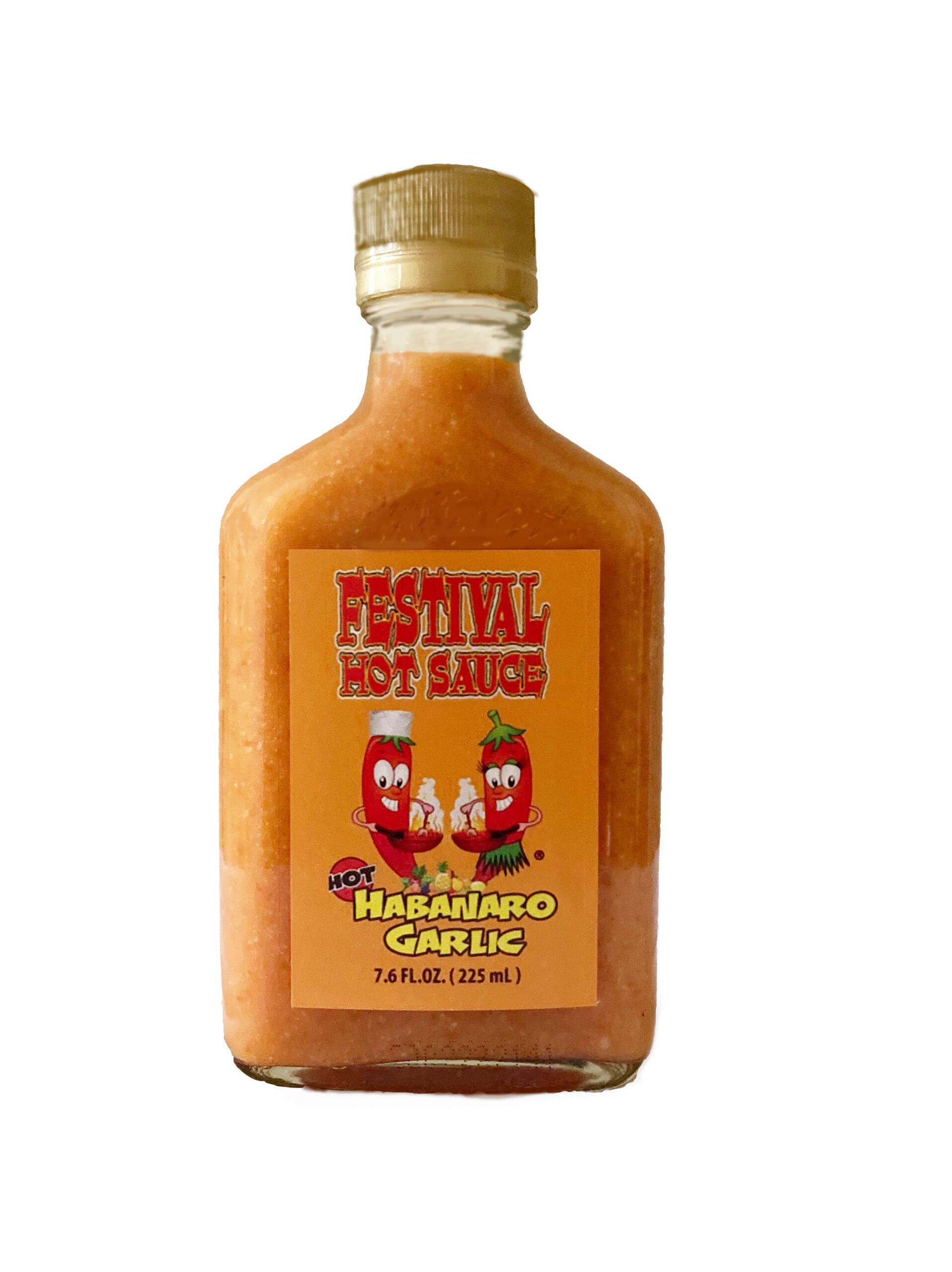 Habanero Garlic Hot Sauce
