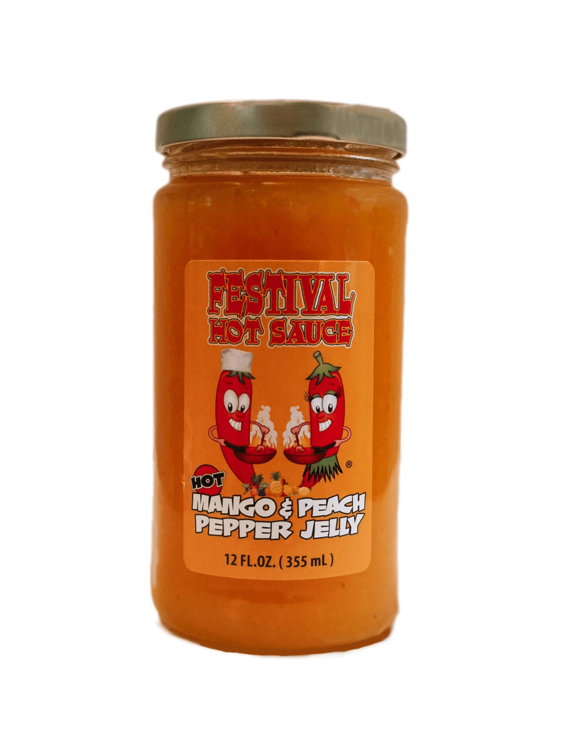 Mango Peach Pepper Jelly